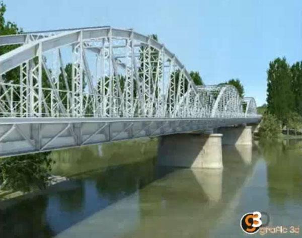 El puente de Villafer. 2009