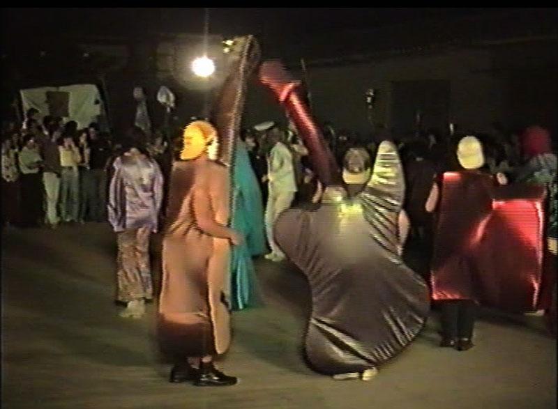 Fiesta de disfraces. San Roque 1994