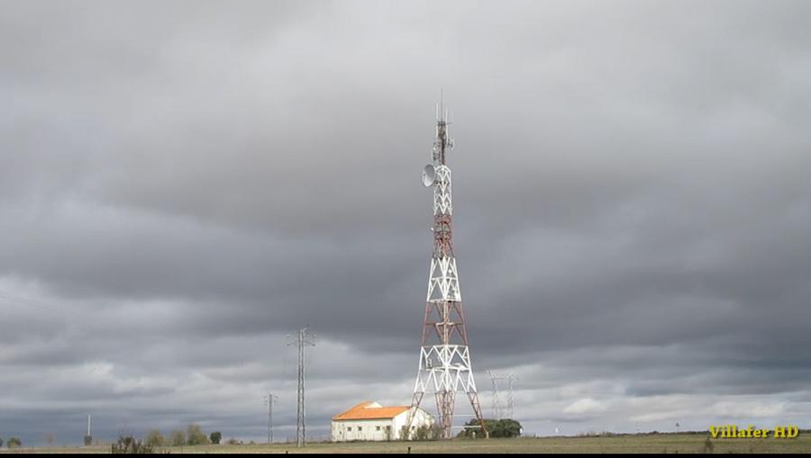 Nubes en Villafer